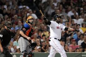 David Ortiz admires his 446 foot blast, the only noise Boston could muster.