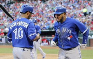 Emilio Bonifacio scores 2 runs, Jays beat the Rangers 3-1.