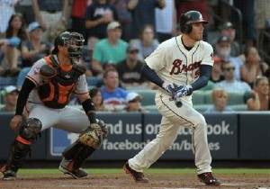 Freddie Freeman delivers a bases loaded, walk-off single in the 9th, and the Braves comeback to beat the Giants 6-5.