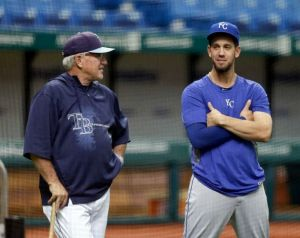 James Shields returns to Tampa Bay, as his Royals rout Rays 10-1.