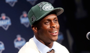 Jets drafted Geno Smith in the 2nd round of the draft. Will they start him over Mark Sanchez? We shall see.