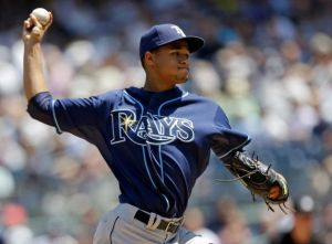 Chris Archer pitched 6 innings, allowing 1 run, and the Rays beat the Yankees 3-1.