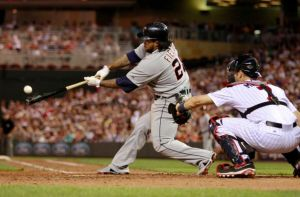 Prince Fielder provides the offense with his 2 run double in the 6th, and the Tigers beat the Twins 4-0.