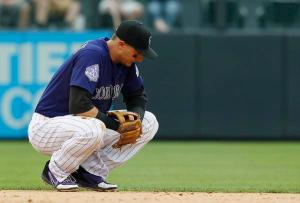 Rockies lose to Tulo and game.