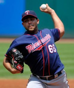 Pedro Hernandez stepped up and helped the Twins avoid the sweep, beat the Indians, 5-3.