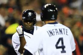 Austin Jackson had reason to be pumped, as his drop in the order resulted in a 2-2, 2BB, 2 RBI night.